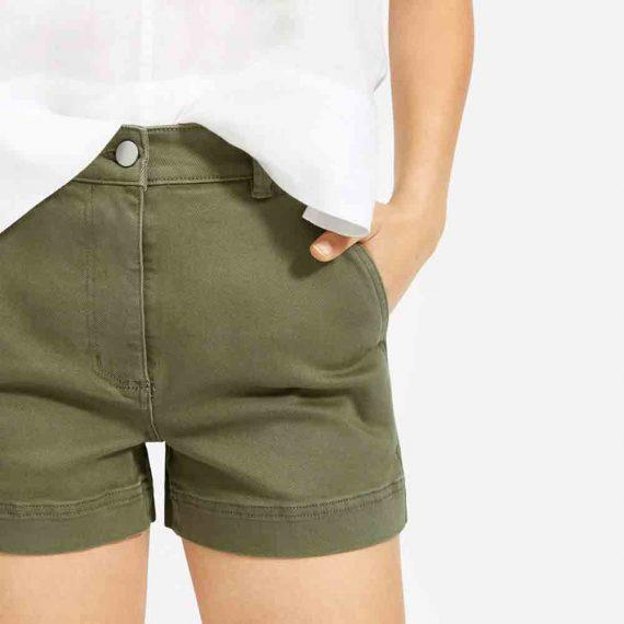 Twill Cotton Short